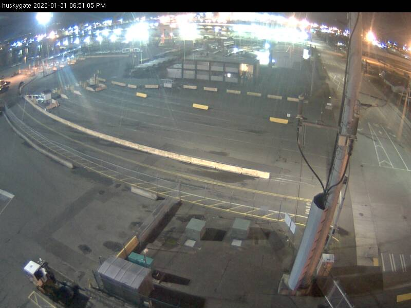 Husky Terminal Gate Camera